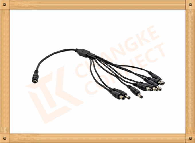CKTRONICS Custom Cable Assembly 1 To 8 Y Type with UL and Rohs standard