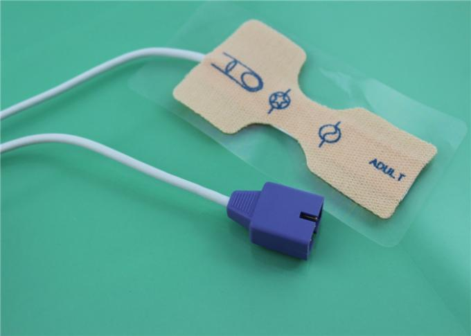 Nellcor Spo2 Probe Sensor 9 Pin Oximax Disposable SpO2 Sensor Neonate / Adult