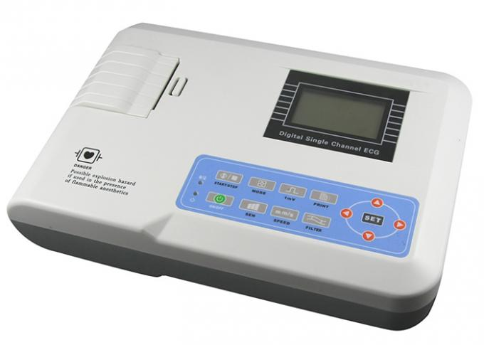 Auto / Manual Operation Portable ECG Machine SE101 Single Channel CE Approvel