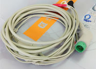 NIHON KOHDEN One Piece 3 Lead Ecg Cable medical equipment Accessories