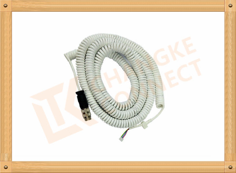PVC Spring Series Cable Focus On Medical Consumble Accessories