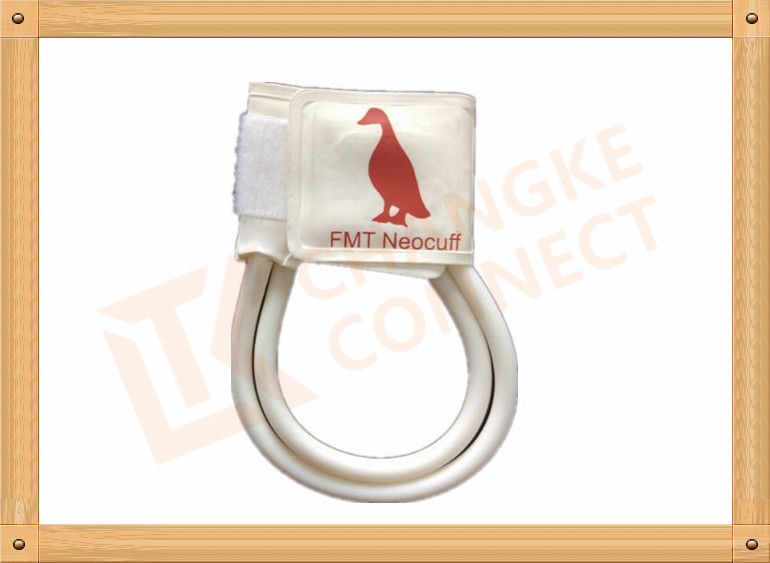 7-13 CM Non Invasive Blood Pressure Cuff  For Veterinary Animals White