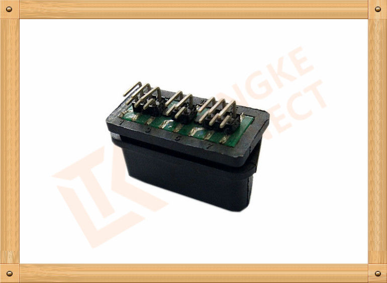Female OBDII 16 Pin OBD Diagnostic Connector SOF004 Obd Port Connector