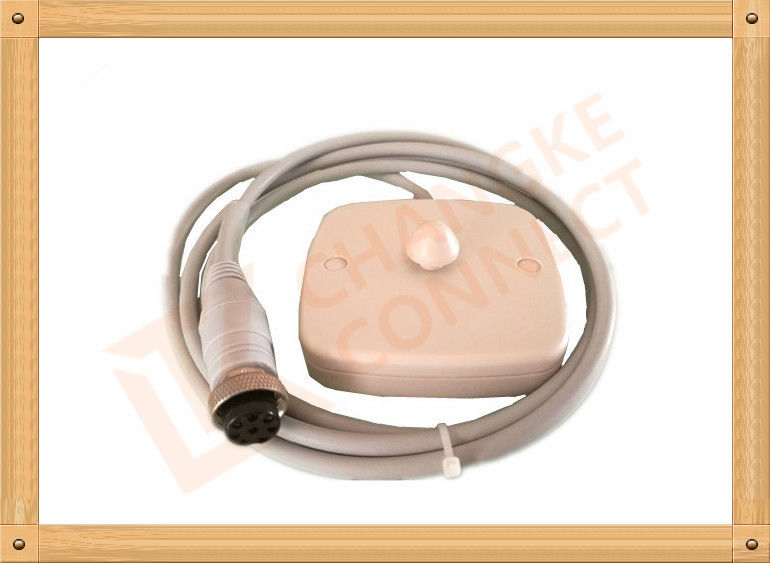 Jumper JPD-300A FHR Fetal heart probe 8 Pin Male Plug with leads
