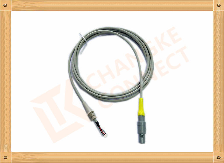 Flexible Connection Line 5 Pin Yellow Double Trough  40° 2 .5M Length , Double Trough