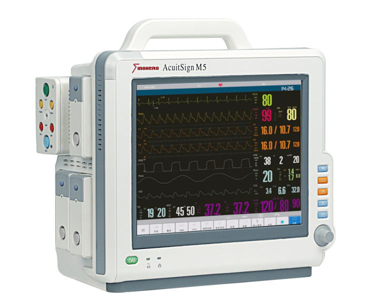 AcuitSign M5 Modular Patient Monitor , Medical Monitoring Devices With Differents Parameters