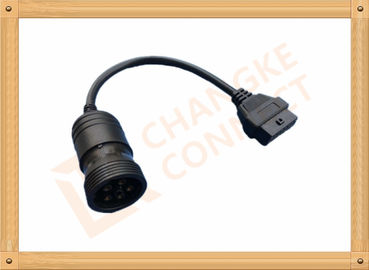 China 6 Pin Female OBD Extension Cable to OBDII 16 Pin Adapter Cable CK-MFTD006 distributor