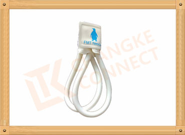 China Animal White Disposable Blood Pressure Cuffs With Double Hose distributor