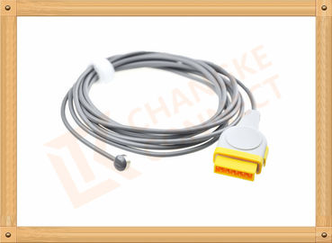 China GE 11 Pin Medical Temperature Sensor Probe Adapter Cable PVC Insulation distributor