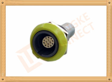 China PSU 14 Pin Circular Push Pull Connector Plastic Female Connector distributor