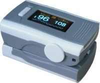 Medical Patient Monitoring System Diagnostic Frigertip Pluse Oximeter with Battery