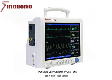 China H8 Portable Patient Monitor , Ecg Monitoring Device 310 X 140 X 263  Mm distributor