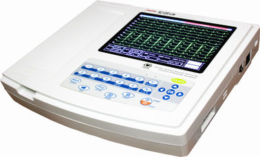 China Electrocardiograph Portable Ecg Monitor SE1200 Lite 12 Channel TFT Full Touch Screen distributor